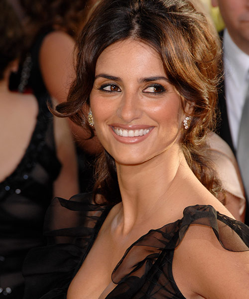 Penelope Cruz Hazel Color Eyes
