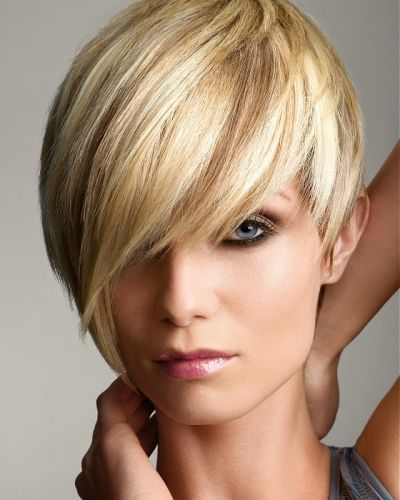 Pixie Cut Long Fringe