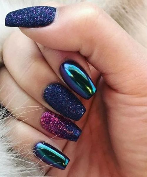 acrylic coffin nail designs