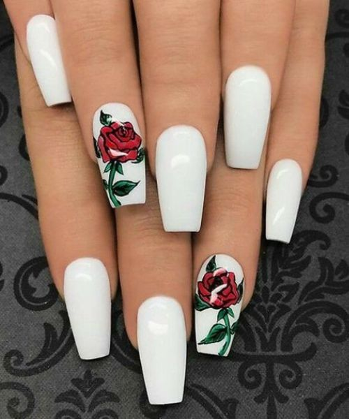 coffin nail art designs
