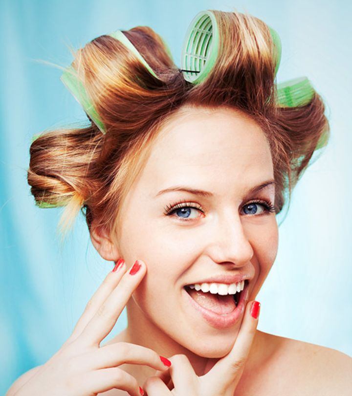 How To Use Hot Rollers For Waves & Volume