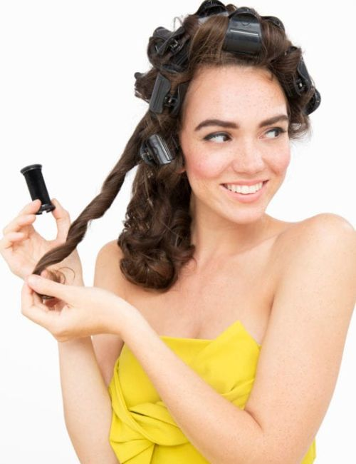how to use hot hair rollers