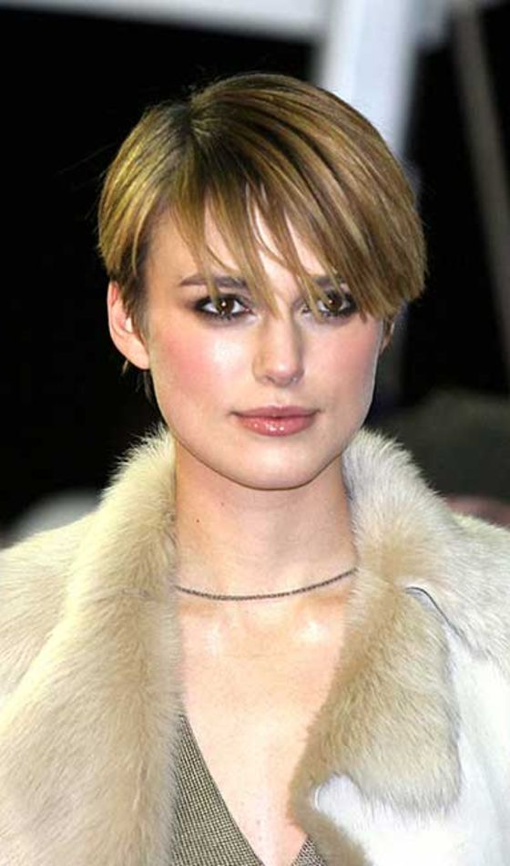 keira knightley short haircuts