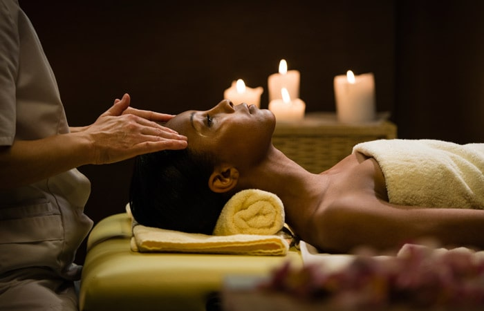 Massages help to release stress