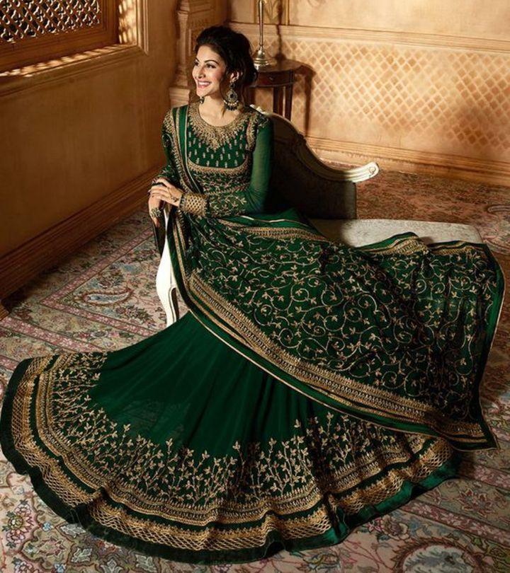 7 Different Types Of Party Wear Salwar Suits For Wedding Guests