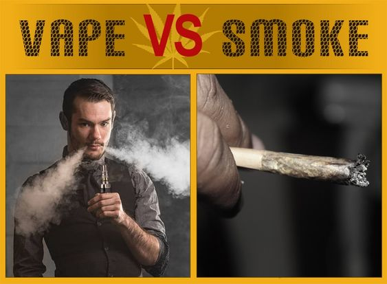 Differences Between Vaping and Smoking