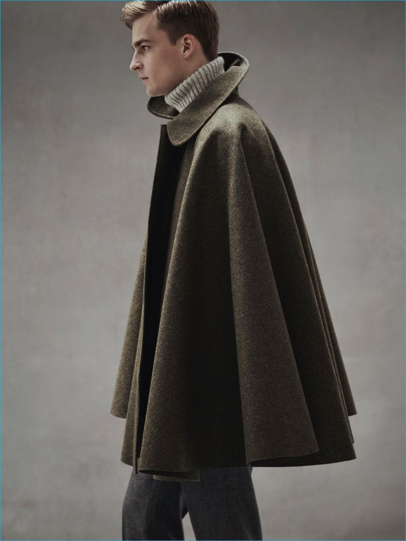 How to Wear a Cloak: the Latest Tendencies for Males