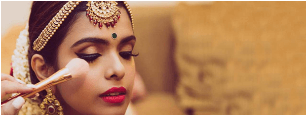 Affordable bridal make-up artists in Delhi NCR