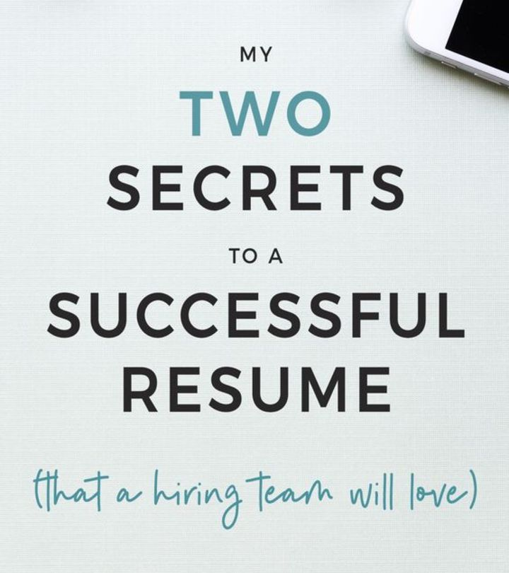 Great Advice On Writing The Perfect Resume