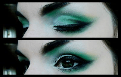 goth eyes