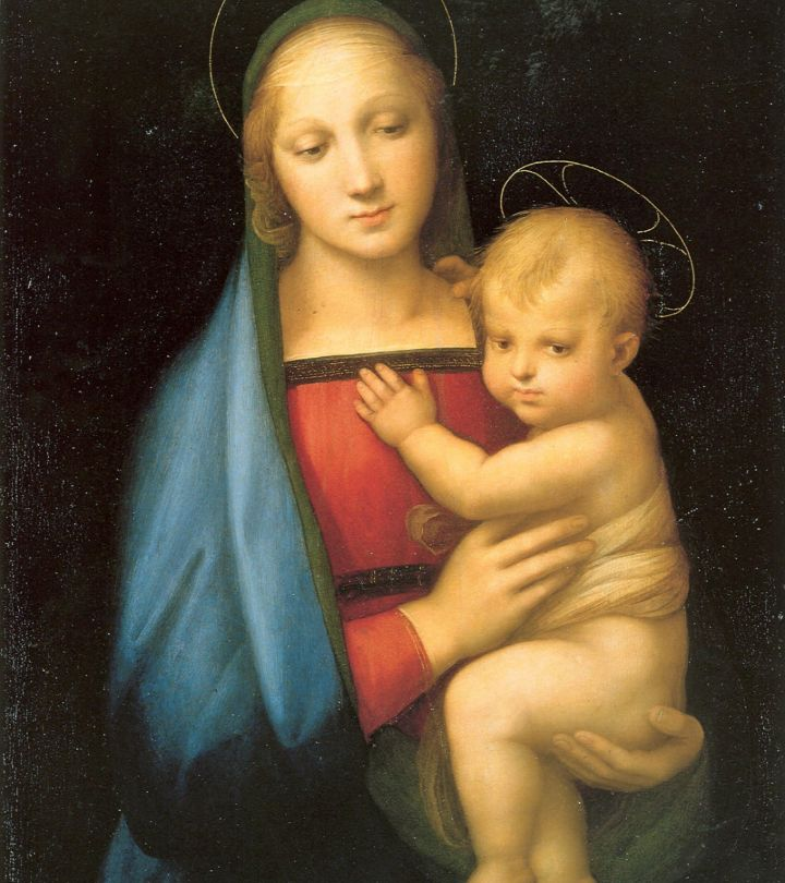 THE REMARKABLE STORY BEHIND MADONNA AND CHILD PAINTING
