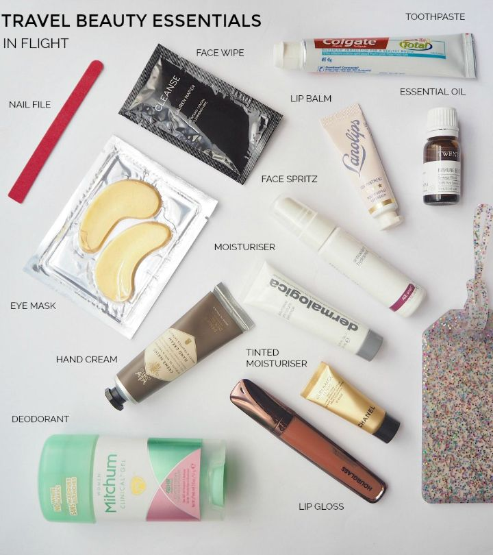 The Beauty Necessities to Pack for a Trip